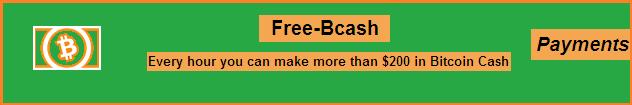 Secondo pagamento da Free-bcash