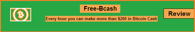 Free-Bcash: guadagna fino a $200 di BitcoinCash gratis ogni ora |Recensione